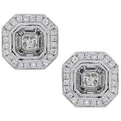 Diamond Mosaic Earrings