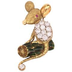 Diamond Mouse Pin