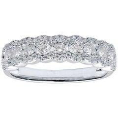 Diamond Outline Band Ring
