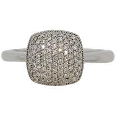 Diamond Pave Gold Ring