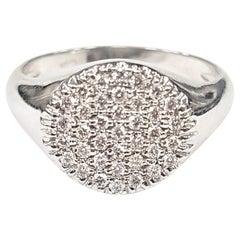 Diamond Pavé Ring