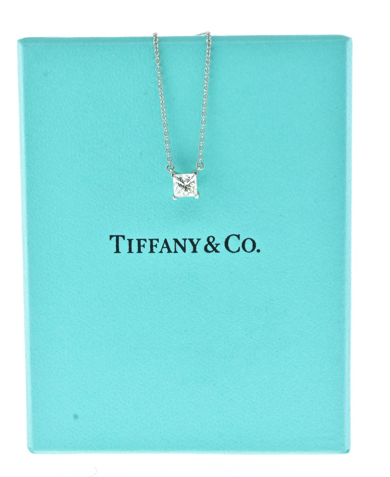 Diamond Pendant Necklace by Tiffany & Co. For Sale 1
