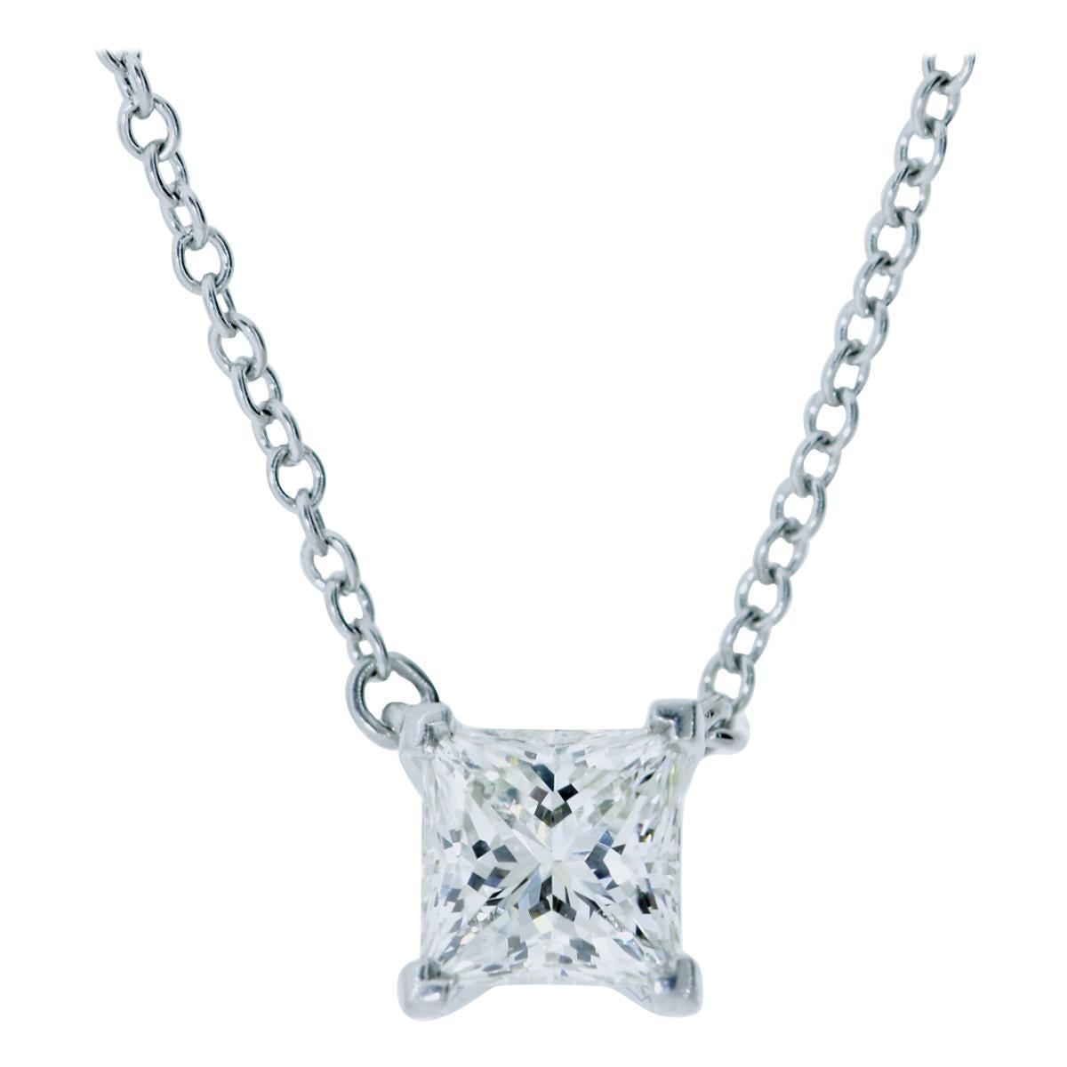 Diamond Pendant Necklace by Tiffany & Co.