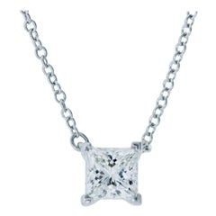 Diamond Pendant Necklace by Tiffany & Co.