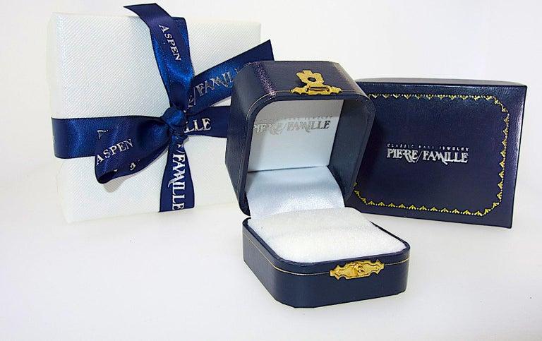 Diamond Pendant Style Long Earrings For Sale 3