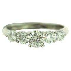 Diamond Platinum Engagement Wedding Ring