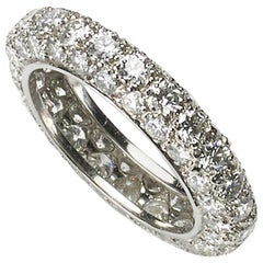 Diamond Platinum Full Eternity Ring