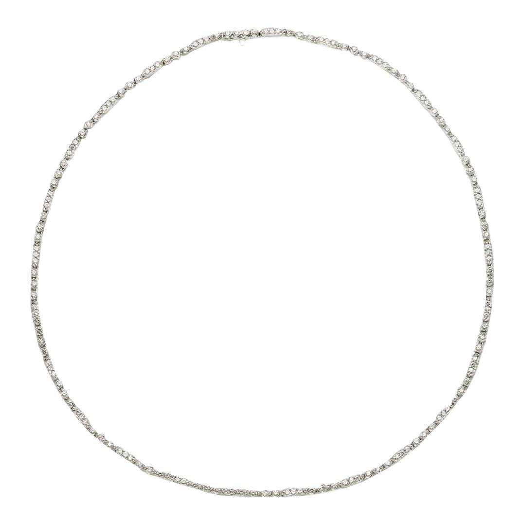 Diamond Platinum Necklace