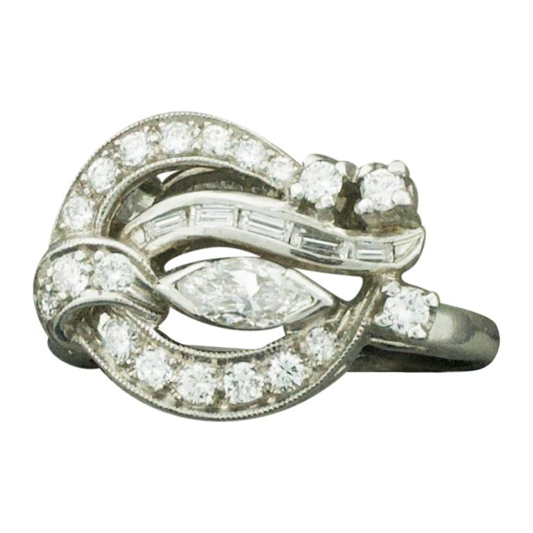 Diamond Ring, circa 1940s