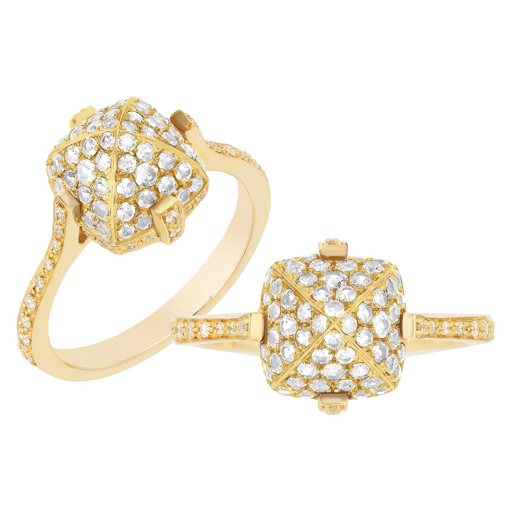 Goshwara Sugar Loaf Diamond Ring