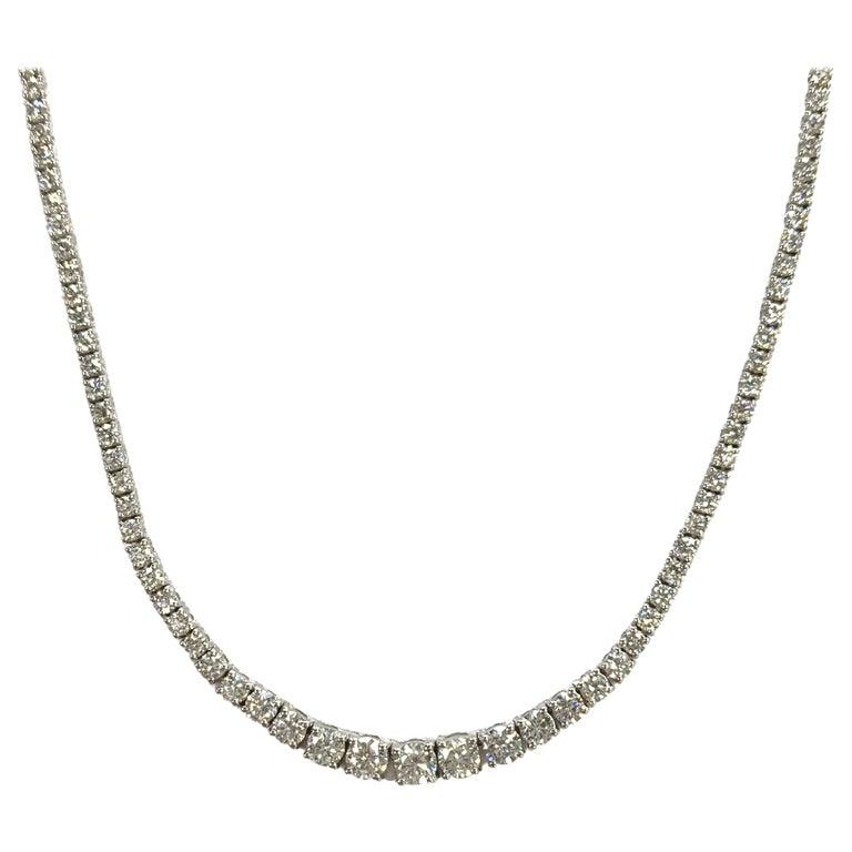 Diamond Riviera/Tennis Necklace