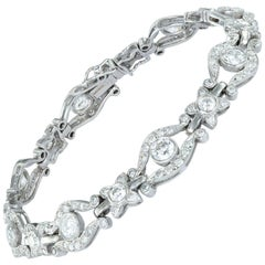 Diamond-Set Bracelet
