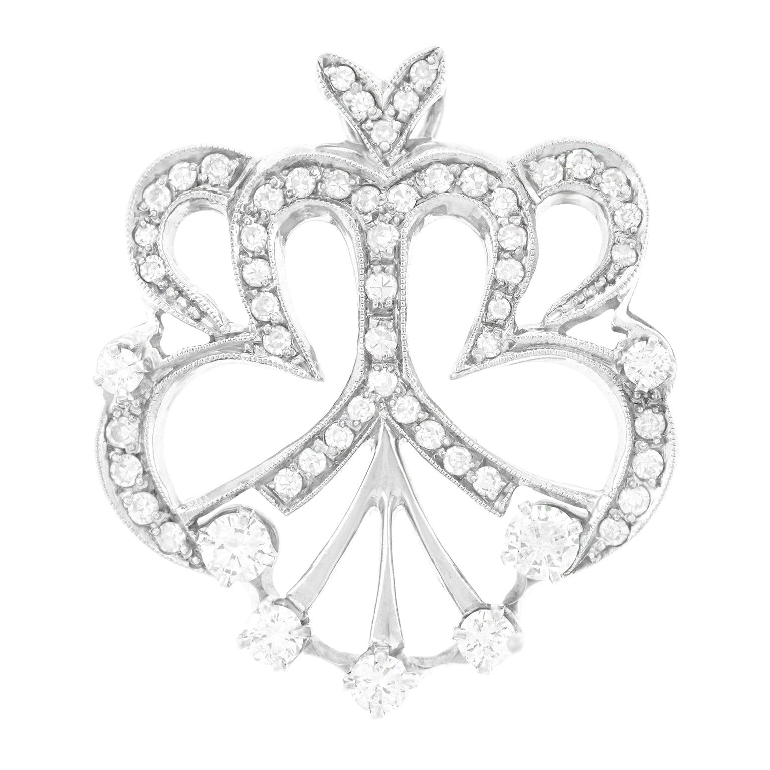 d6dfdf00e53 Antique Diamond Brooches - 4,318 For Sale at 1stdibs