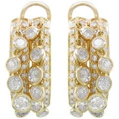 Hammerman Brothers Diamond Shaker Earrings