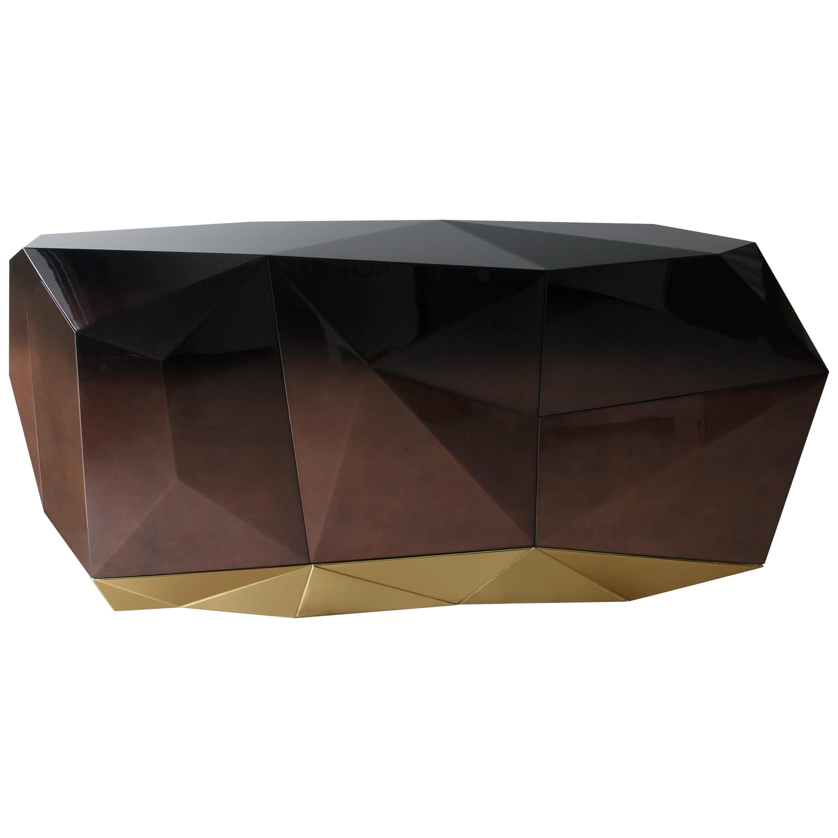Diamond Chocolate Sideboard