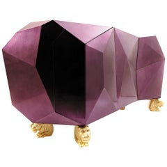 Diamond Amethyst Sideboard