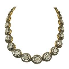 20 Carat Fancy Cut Diamond Necklace Pendant