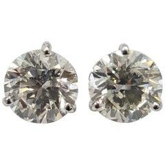 Diamond Stud Earrings 5.86 Carat