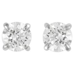 0.30 Carat Diamond Stud Earrings White Gold