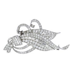 Diamond Swash Brooch