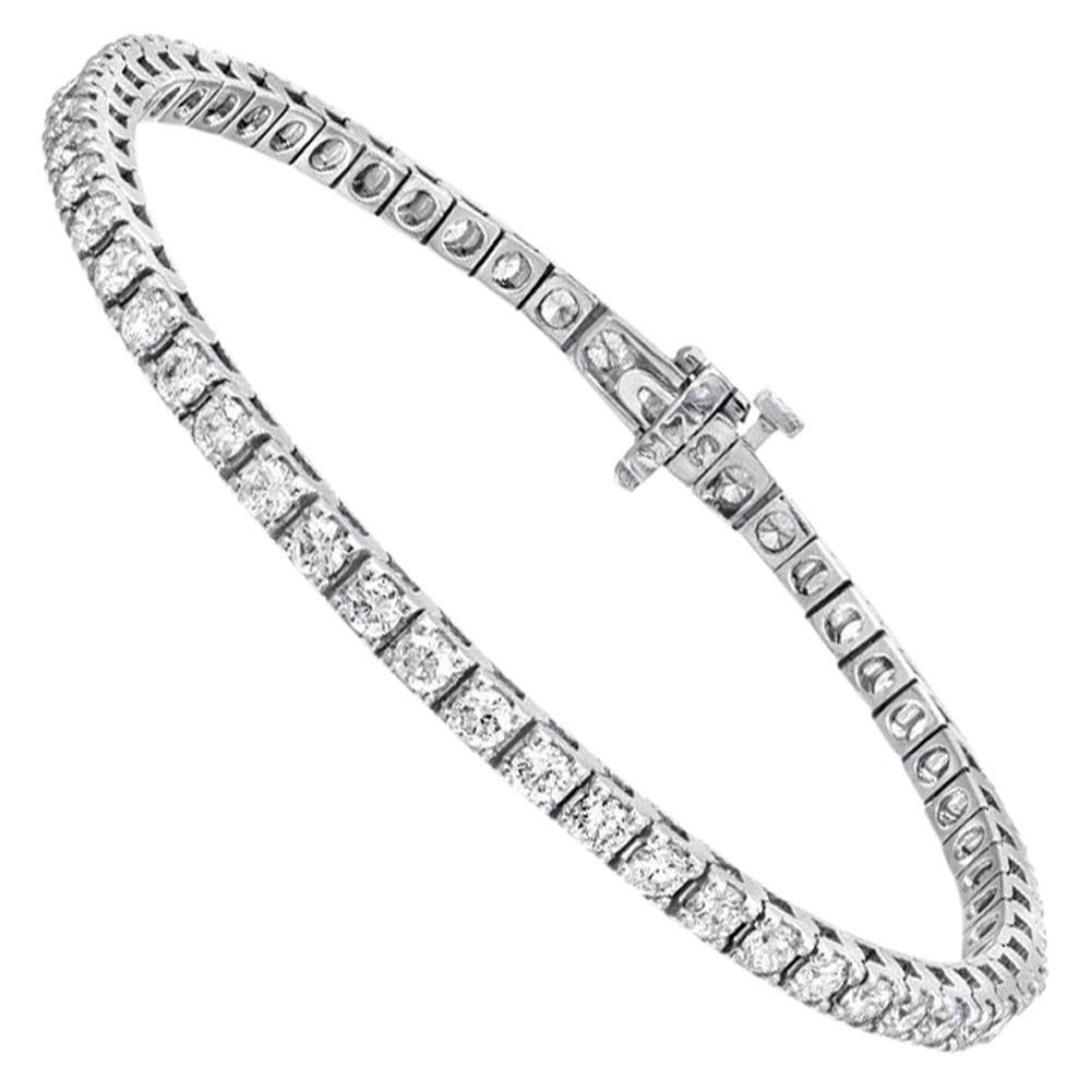 Diamond Tennis Bracelet 2.50 Carat