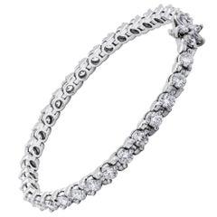 Diamond Tennis Bracelet 8.13 Carat