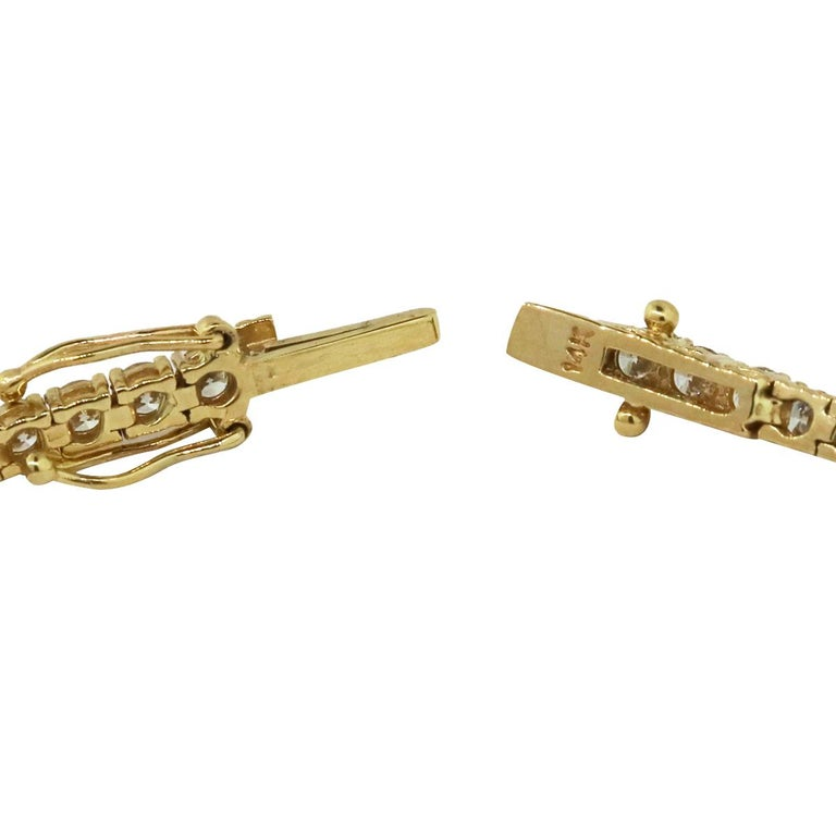 Women's Diamond Tennis Bracelet For Sale