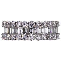 Diamond Three-Row Band