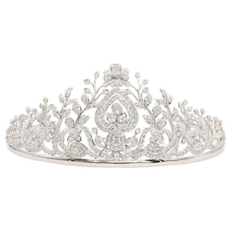 Diamond Tiara For Sale