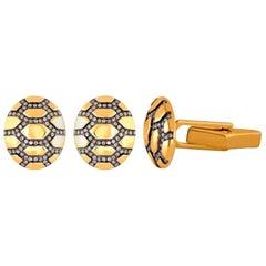 Diamond Turtle Cufflinks
