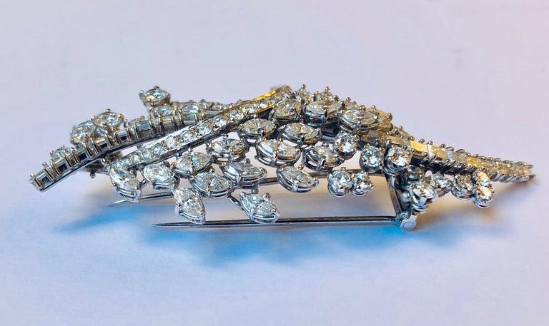 Diamond Van der Veken High Jewelry Brooche In New Condition For Sale In Antwerpen, BE