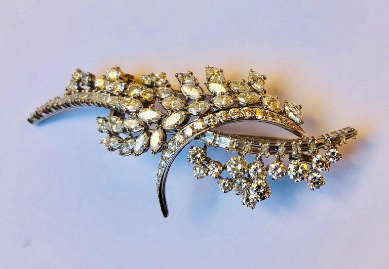 Diamond Van der Veken High Jewelry Brooche For Sale 1