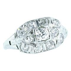 Diamond Vintage Ring, circa 1938