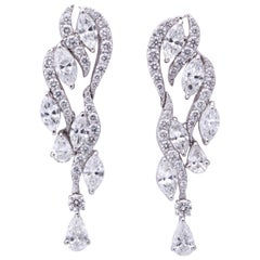 Diamond Waterfall Earrings