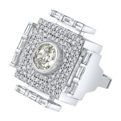 Diamond White Gold Cocktail Ring