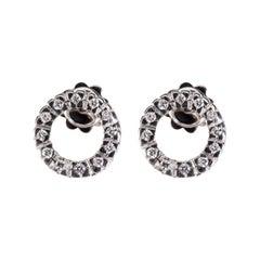 Diamond White Gold Earrings