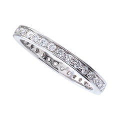 Diamond White Gold Eternity Ring