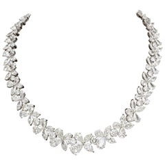 Diamond Wreath Necklace