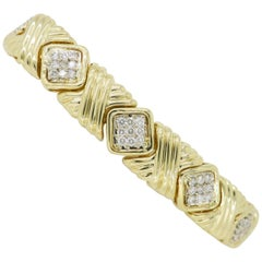 "Diamond ""X"" Style Bracelet"