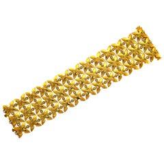 Diamond Yellow Gold Bracelet by Stephen Webster