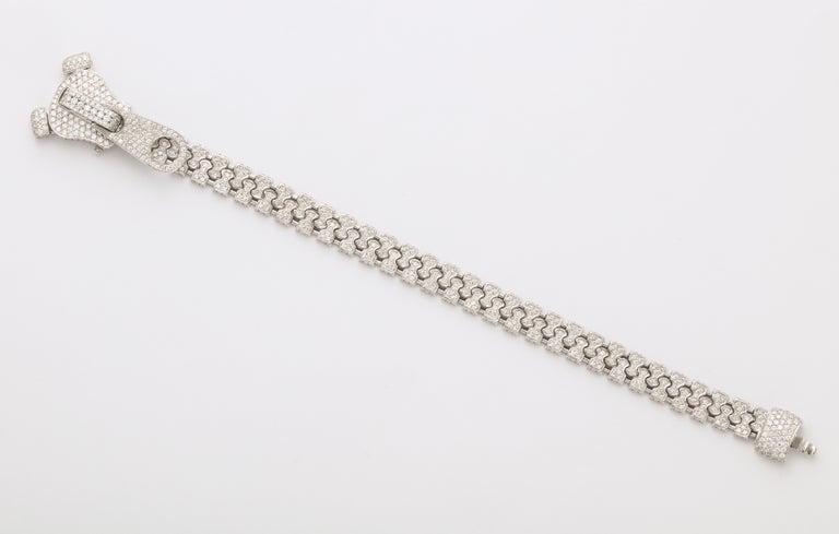 Diamond Zipper Bracelet For Sale 2