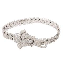Diamond Zipper Bracelet