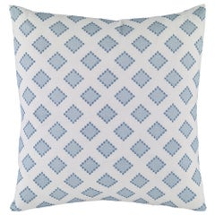 Diamondots Pillow in Turquoise by Curatedkravet