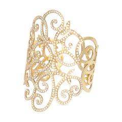Diamonds 18k Yellow Gold Bracelet, 2000