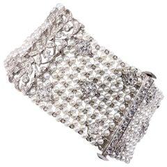 Diamonds and Pearls Bracelet