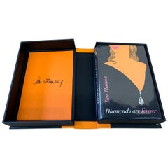 Diamonds are Forever by Ian Fleming, First Edition, Later DJ, 1956