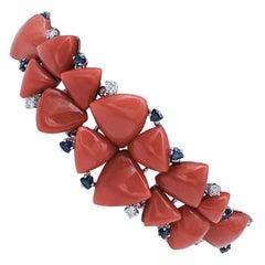 Sapphire Retro Bracelets