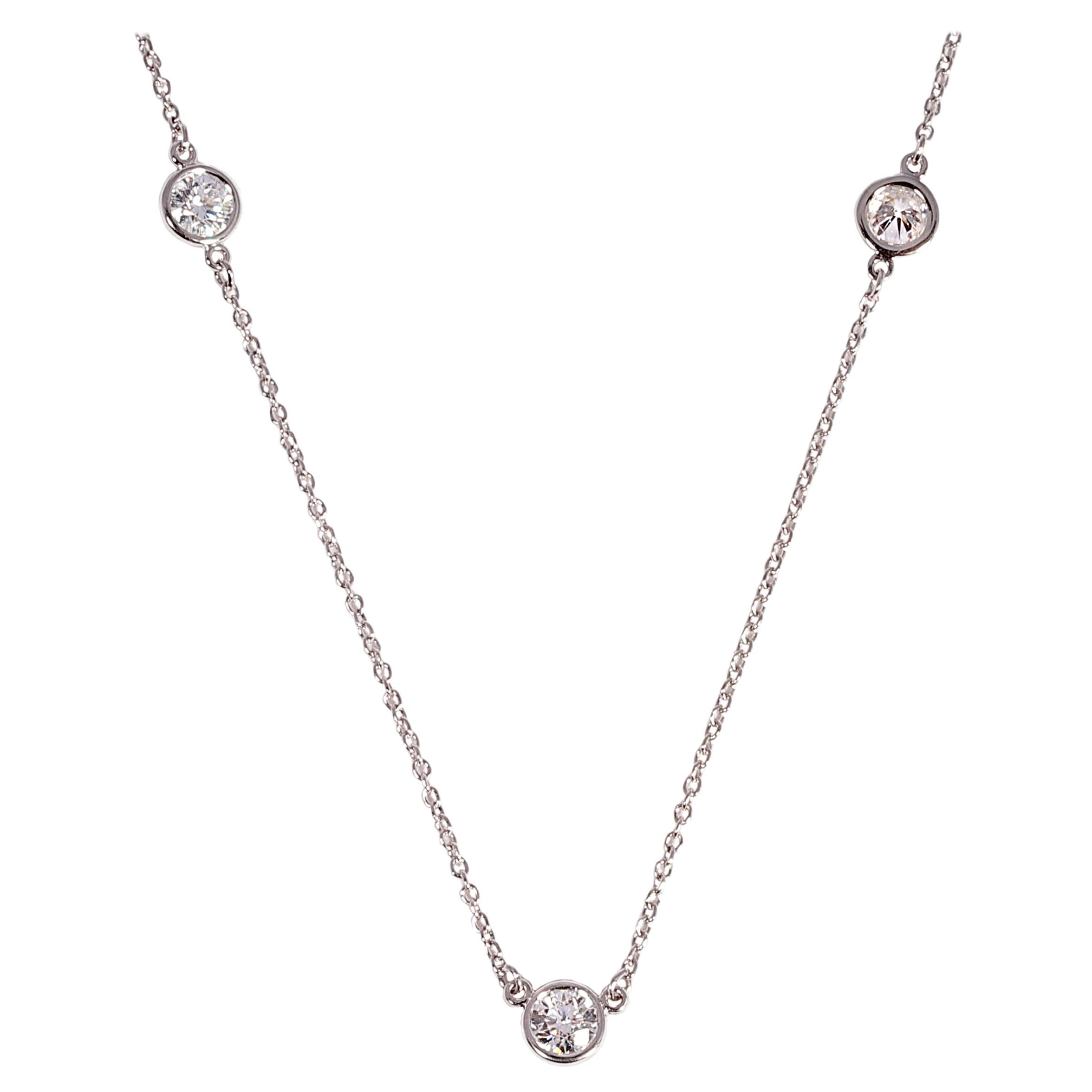 Diamonds by the Yard Necklace by Elsa Peretti for Tiffany & Co.