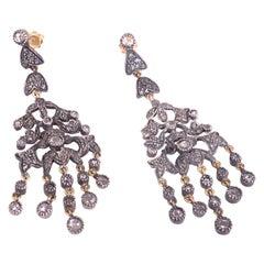 Diamonds Chandelier Earrings