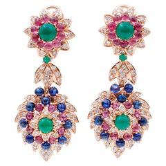1980s Dangle Earrings